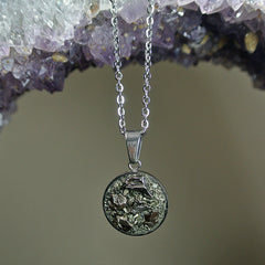 The Cosmos 2.0 Meteorite Necklace