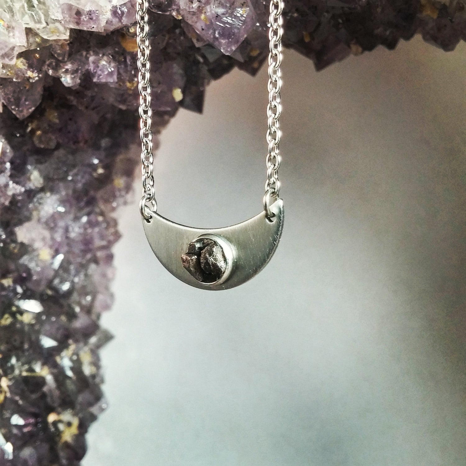 The Mimas Meteorite Necklace