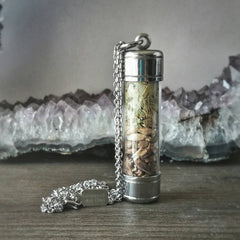 The ALEchemy Line (The IPA Stainless Steel Vial Necklace)