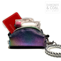 Tiny Boxy Bag - Rainbow Color Shift