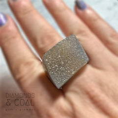 Druzy Agate Ring #1