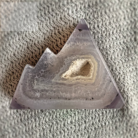Druzy Agate Mountain #3