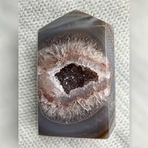 Druzy Agate Tower #1