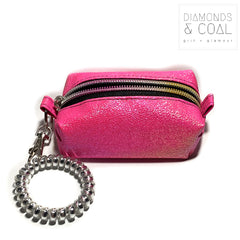 Tiny Boxy Bag - Hot Pink Color Shift