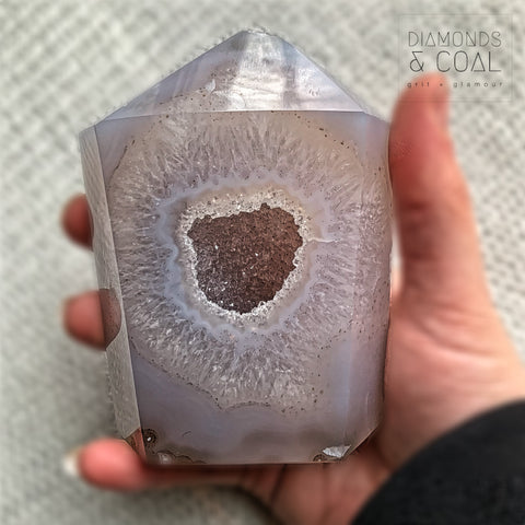 Druzy Agate Tower #4