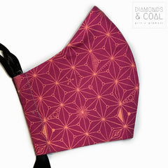 Citizen Face Mask with Filter Pocket - Unisex - Size Medium - Cosmic Designs