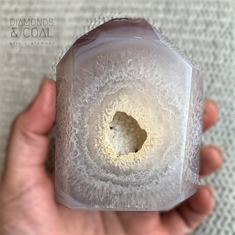 Druzy Agate Tower #2