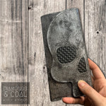 Ymir Skull Wallet - Black and Silver Heavy Metal