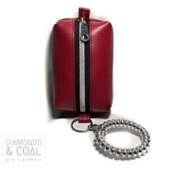Tiny Bag - Crimson Faux Leather - Holiday Special