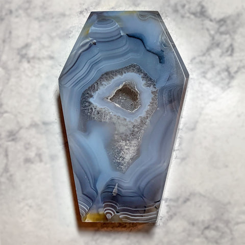 Druzy Agate Coffin #3