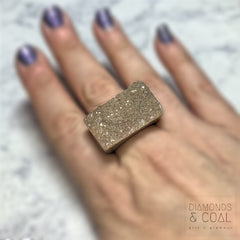Druzy Agate Ring #3