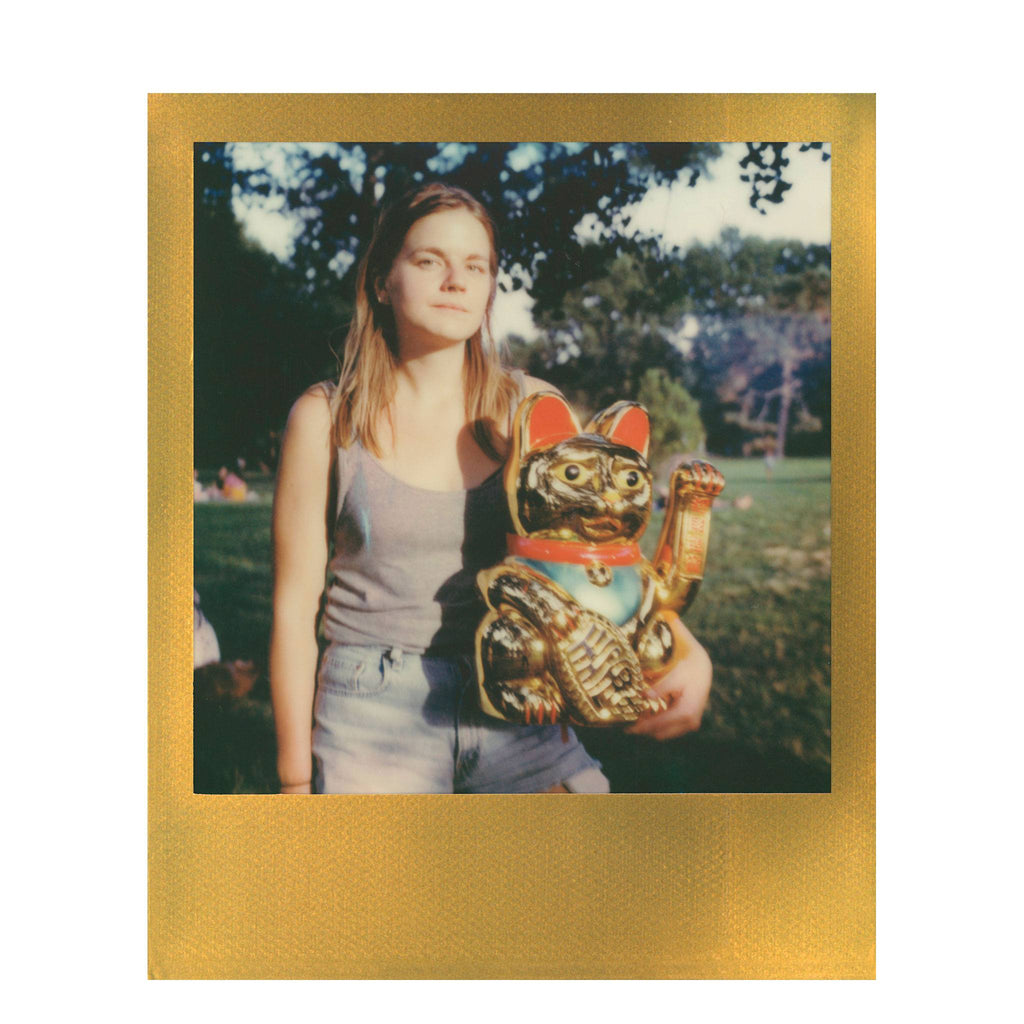 Color Film for Polaroid 600 with Gold Frames