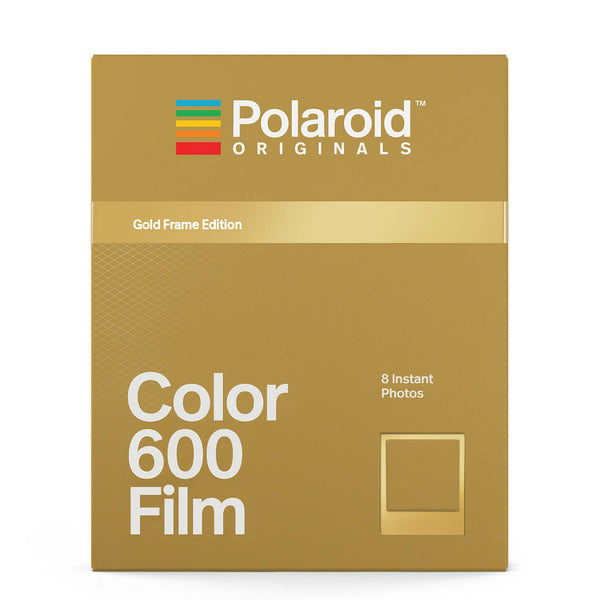 ed31f883b76 Color Film for Polaroid 600 with Gold Frames