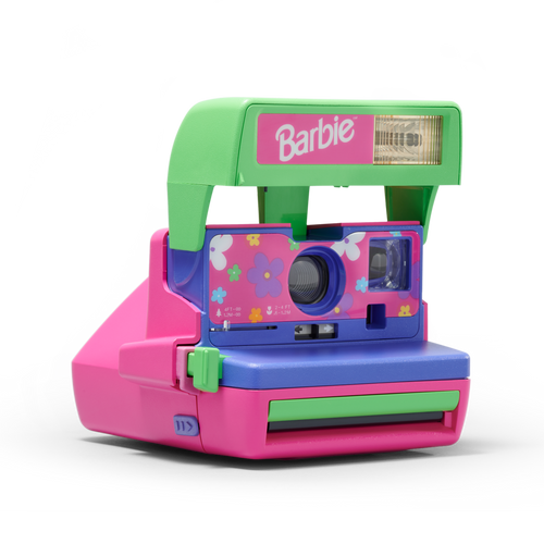 Barbie Polaroid Camera Front view