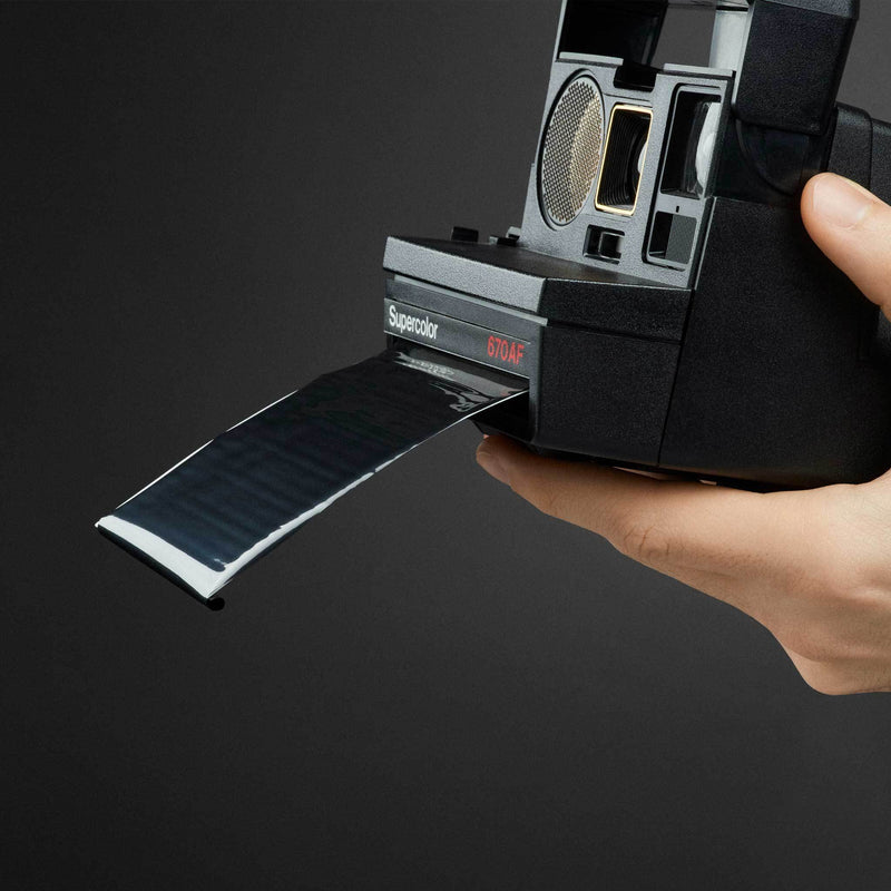 Polaroid Film Shield for Box Type Cameras on camera