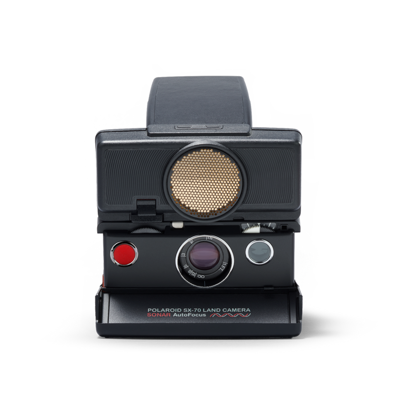 Polaroid SX-70 Autofocus Instant Camera with flashbar