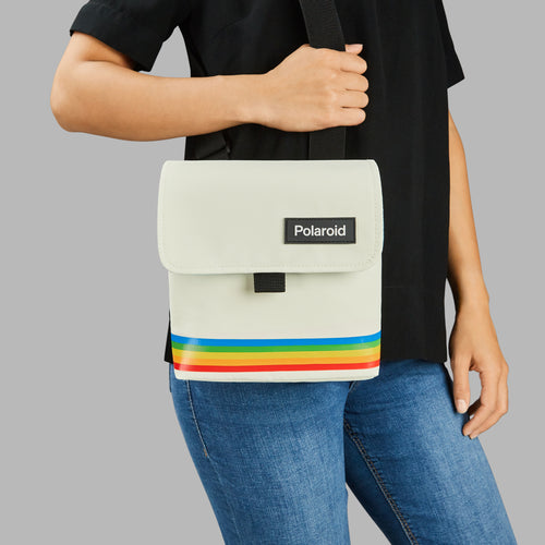 Polaroid Box Camera Bag - White