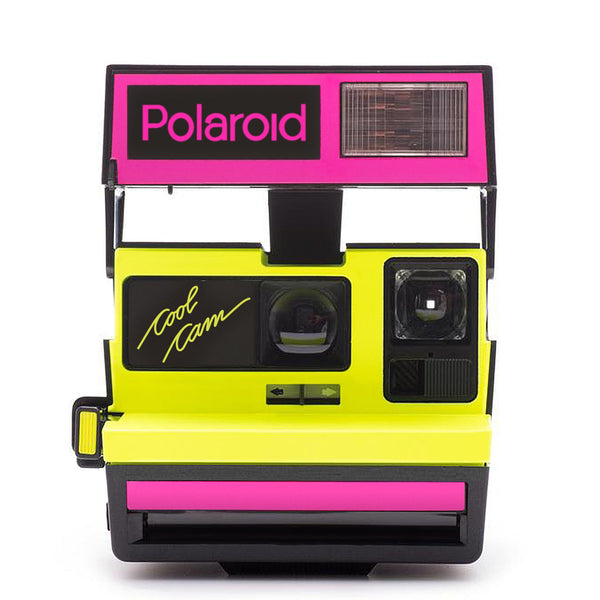 Polaroid 600 Camera Cool Cam Neon