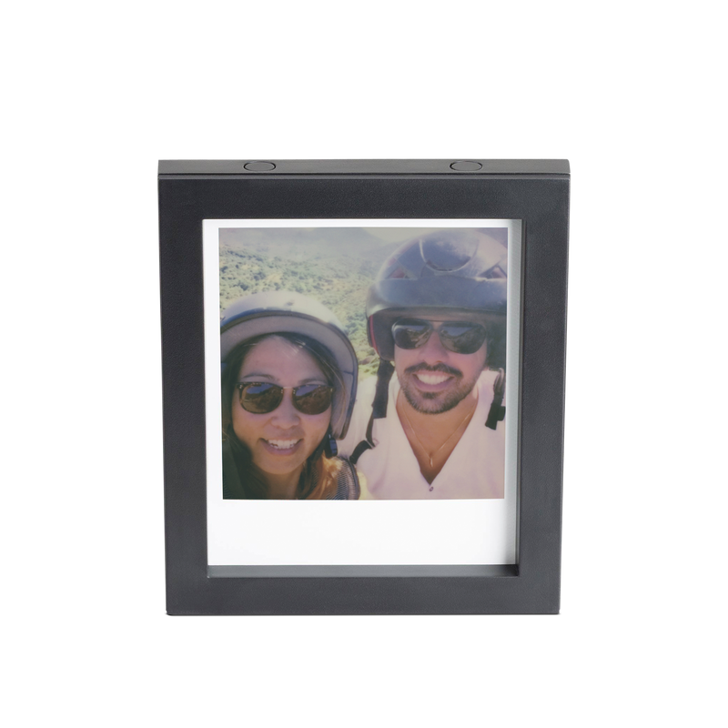 Black Magnetic Polaroid Picture Frame