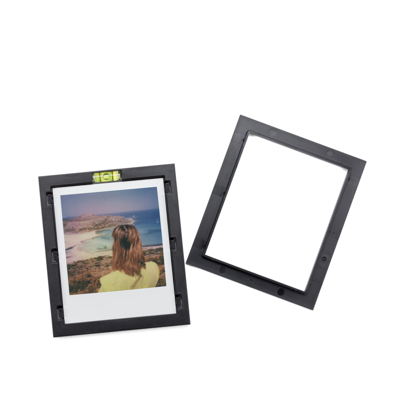 Black Magnetic Polaroid Picture Frames Mechanism