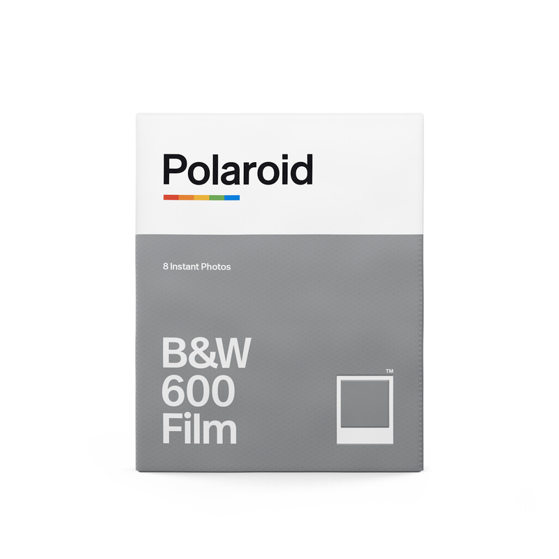 Polaroid 600 Film Black And White Front