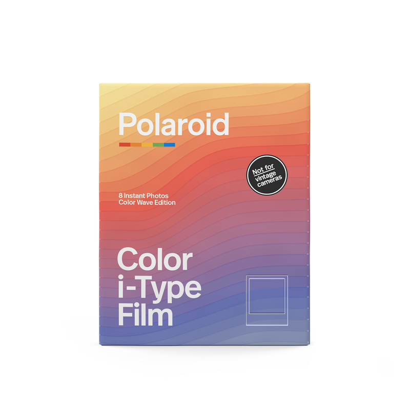 Polaroid Color i-Type Film Color Wave Edition Front view