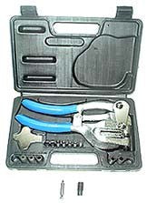 7 Sizes Power Hole Punch Kit