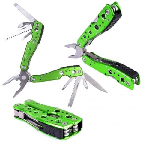 9-in-1 Multi-Tool Folding Pliers with Knife Saw Bottle Opener Screwdriver and more