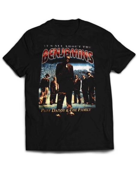 "Vintage ""All About the Benjamins"" tshirt"