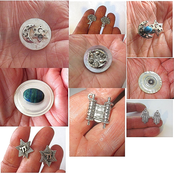 hand-crafted brooches pins cufflinks