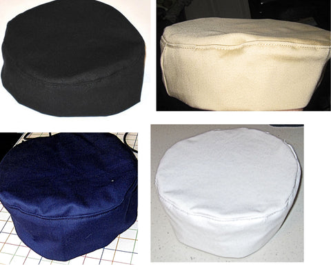 Bucharian solid color kippahs
