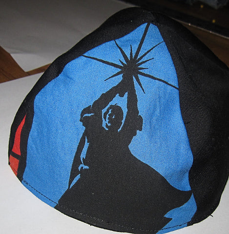 Luke Skywalker kippah Jedi Knight yarmulke