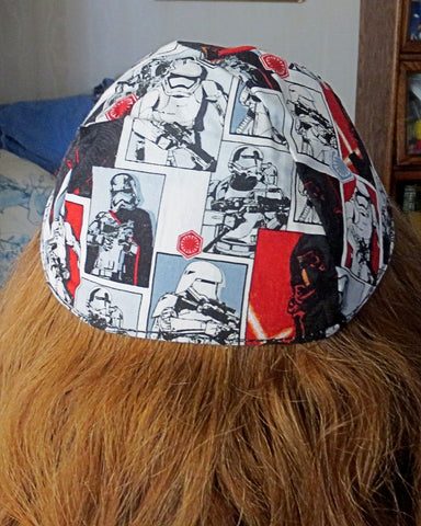 Kylo Ren Star Wars bad guys kippah or yarmulke