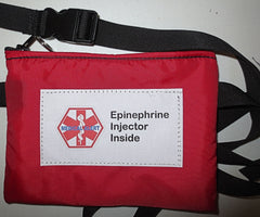 insulated epipen case with medical alert label