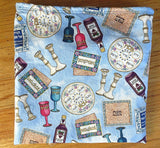 Passover ritual items matzo cover
