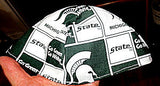 Michigan state go green yarmulke