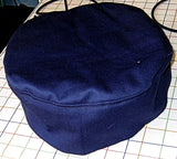 Buchari kippah navy blue