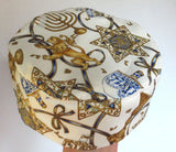 Hanukkah Bucharian kippah Lion of Judah