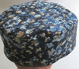 Bucharian kippah classic  solid colors and prints Sephardic hat style yarmulke