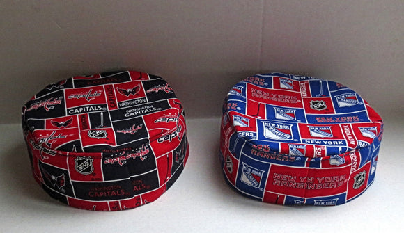 NHL Bucharian kippah pro hockey sports Sephardic yarmulkes select your team