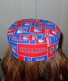 NHL Bucharian kippah pro hockey sports style Sephardic yarmulkes --pick your favorite NHL team