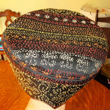 Tapestry Bucharian kippahs or Sephardic hat style yarmulkes --many gorgeous fabrics to selection from