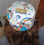 Bucharian Wonder Woman kippah