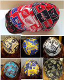 Kippah REVERSIBLE regular kippahs...select your team character music geeky patterns for each side