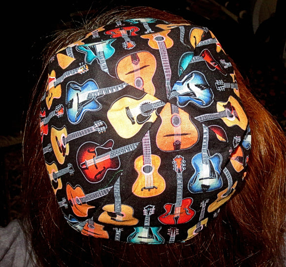 guitars kippah or yarmulke
