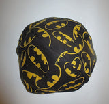 Bat Man logo kippah