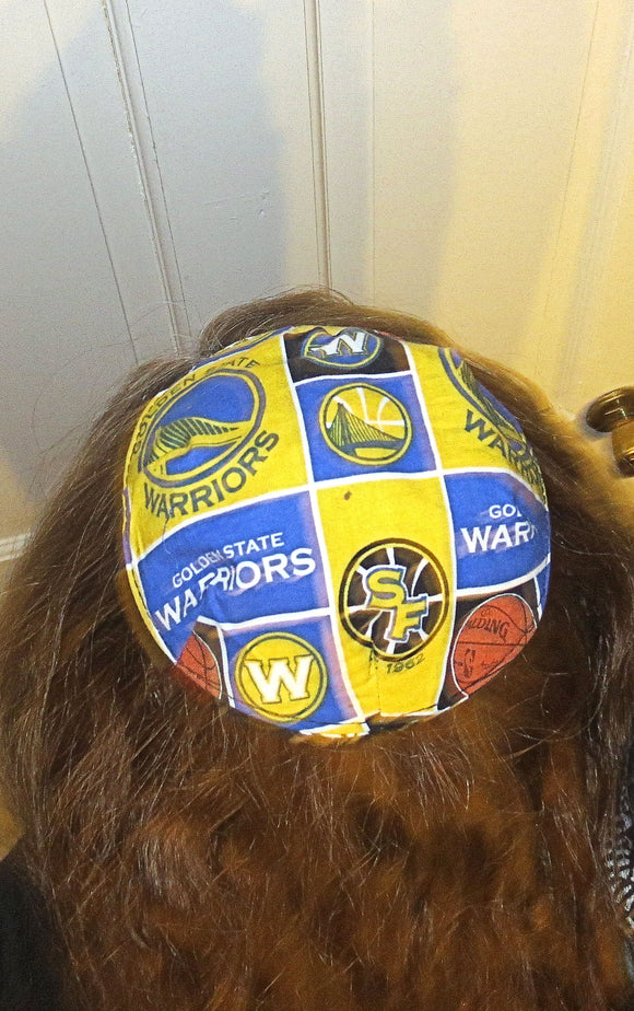 Saucer Reversible kippah or yarmulke major sports teams NBA