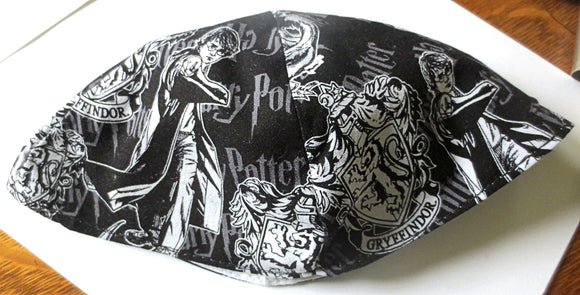 Harry Potter kippah or yarmulke many patterns and characters