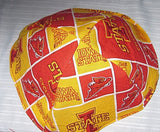 NCCA regular kippah or yarmulke select your University or College team