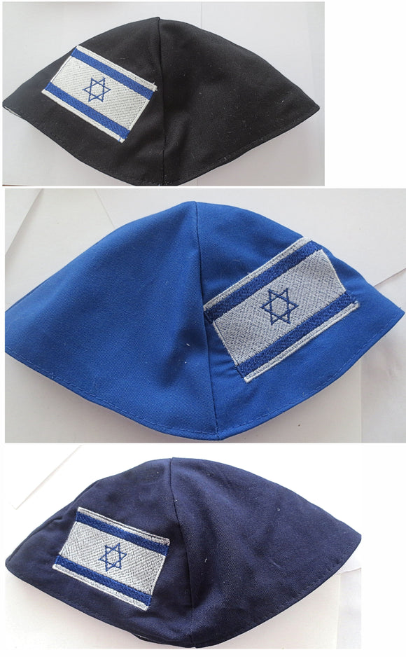 Flag of Israel kippah